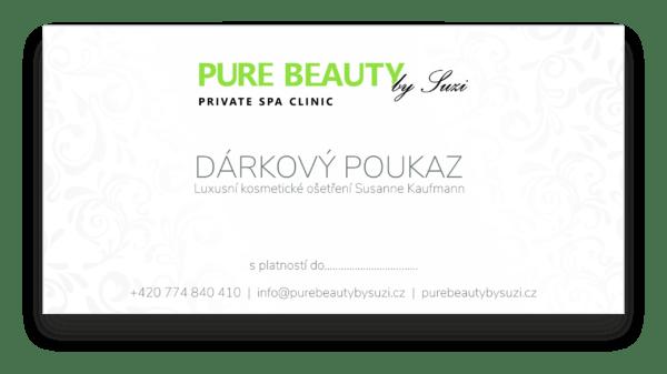 luxusni kosmetické ošetření susanne kaufmann darkovy poukaz