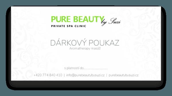 darkovy poukaz aromatherapy masaz